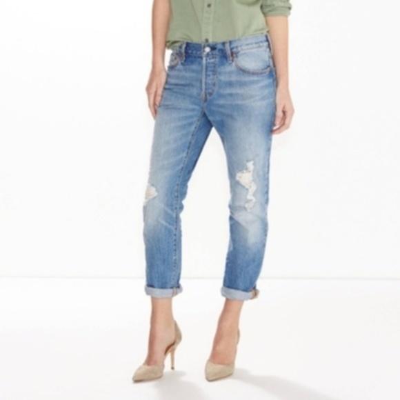 3e664efd Levi's Jeans   Levis 501 Ct Boyfriend Tapered Button Fly   Poshmark